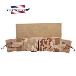 Image 4 - حقيبة إيمرسونجير ماج ذات سحب جانبي مزودة بجيب للمجلة M4 بندقية رموهة التكتيكية مزودة بخطاف وحلقة صيد معدات عسكرية للجيش
