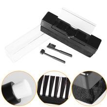 Набор для чистки виниловых пластинок LEORY, набор для чистки виниловых пластинок с маленькой щеткой, набор для очистки пластинки LP