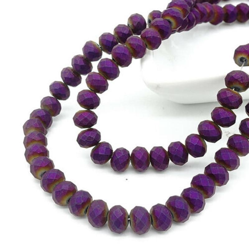 Тусклые глянцевые хрустальные чешские бусины BEAUCHAMP граненые матовые ожерелья Бисероплетение ювелирные изделия серьги бант аксессуары