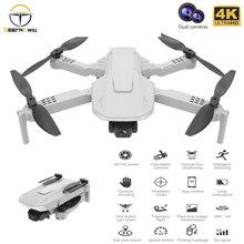 E730 PRO Drone 4k profesjonalny z szerokim kątem HD podwójny aparat 5G WIFI optyczne pozycjonowanie przepływu FPV Dron helikopter Rc zabawki drony cheap DEEPAOWILL CN (pochodzenie) Z tworzywa sztucznego 150m 21 5*15 5*5 Mode2 15days Silnik szczotki 3 7V 4 kanały Oryginalne pudełko
