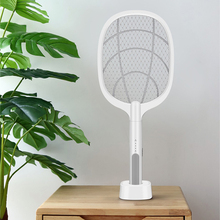 Mosquito Swatter Racket Insects Killer Electric Fly-Trap-Lamp Handheld Home Bug Pest
