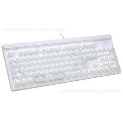 I produttori di Vendita Diretta Macchine Retro Punk Tastiera Del Computer Cavo USB di Pollo Gioco Brillante Sospensione Tastiera Gaming