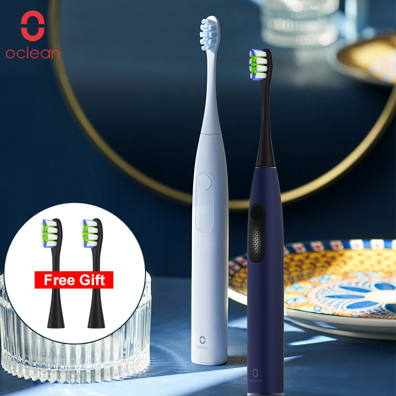 Global Version Oclean F1 Sonic Electric Toothbrush IPX7 Waterproof Smart Toothbrush Fast Charging Three Brushing Modes