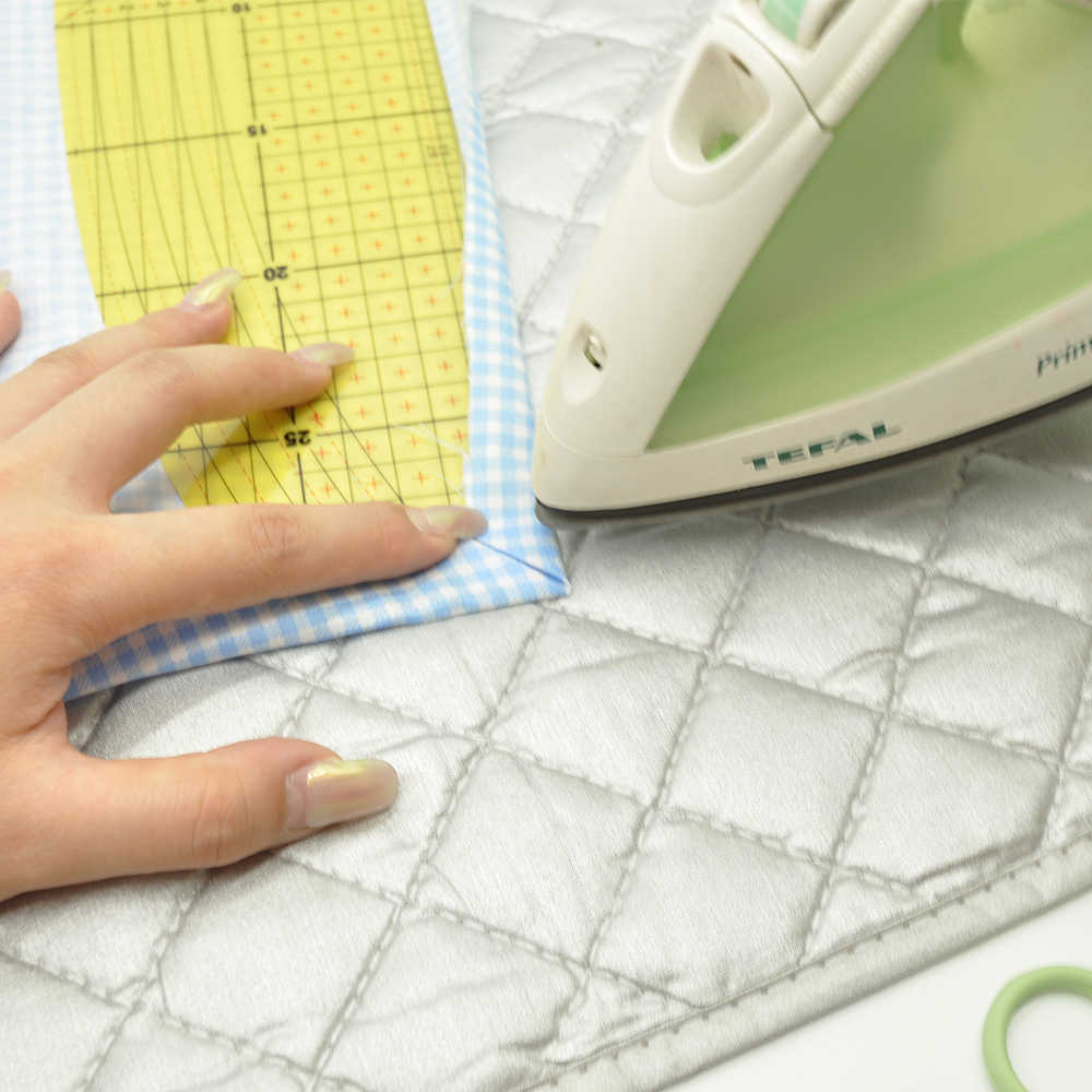 Hot Ironing Ruler Patchwork Clothes Fabric Crafts DIY Sewing Measuring Hand Tool