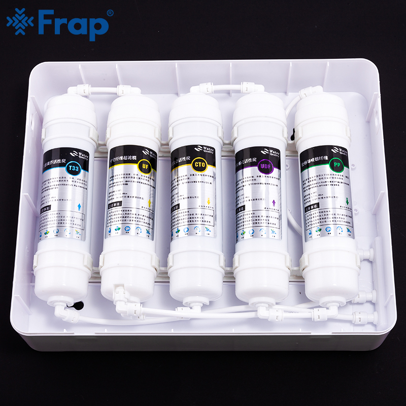 Frap Water Filter System Water Filtration Replacement Filter Drinking Ultrafiltration System Home Kitchen Purifier Water Filters