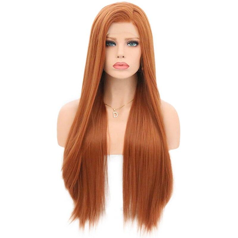 perucas naturais da linha fina para mulheres