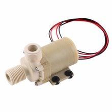 1pc Solar Waterpomp 12V DC Waterpomp 3M Hot Watercirculatie Pompe Borstelloze Motor hoge druk Voedsel grade Hoge Kwaliteit Nieuwe