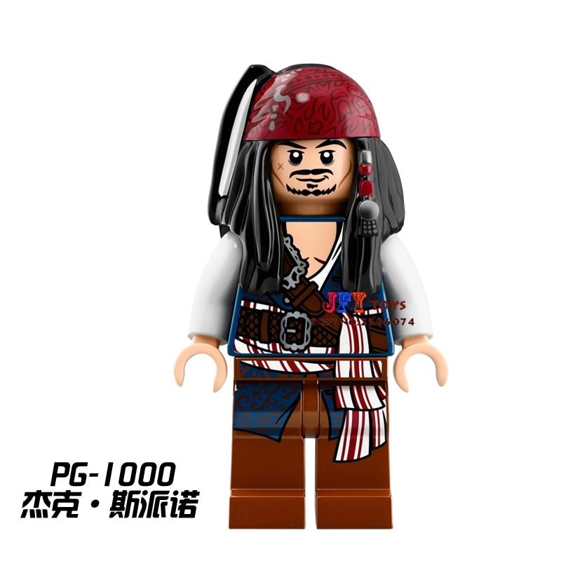 Single Pirates Of The Caribbean Tales Jack Sparrow Building Blocks Models Bricks Toys For Children Kits