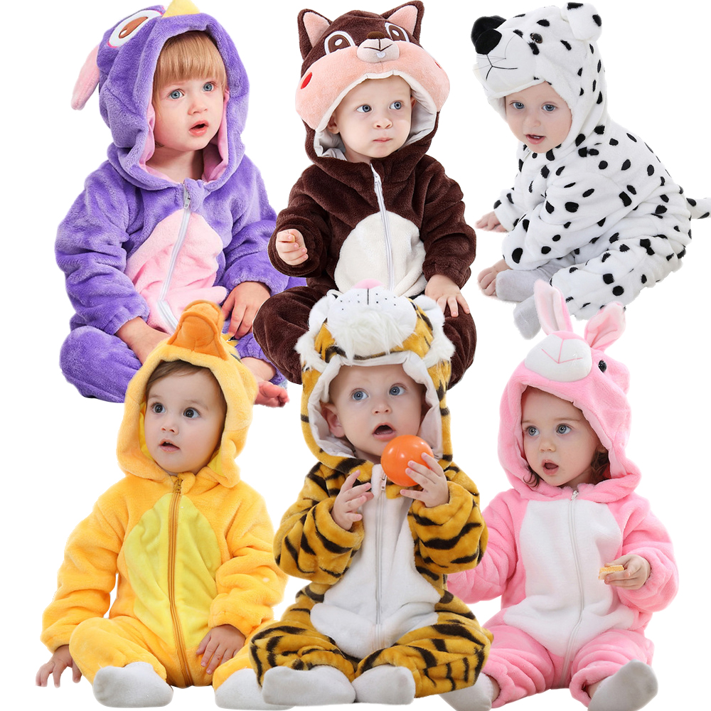 Baby Clothes Boy Girl Romper Newborn Baby Jumpsuit Cosplay  Infant Onesie Winter Soft Ropa Bebe Romper Outfit Costume