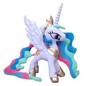 "Image 5 - Unicorn Princess Cadance Stuffed Animals Horse Plush Doll Kids Toys Great Gift 12"" 30 CM"