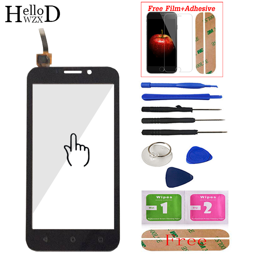 Touch Screen For Huawei Y541 Y5 Y5c Y541-U02 Lens Sensor Touch Panel Digitizer Front Glass Screen Protector Adhesive