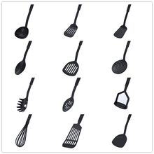 цена на 1 spoon colander silicone spatula kitchen tool cookware shovel tool high temperature non-stick soup spoon special cooking shovel