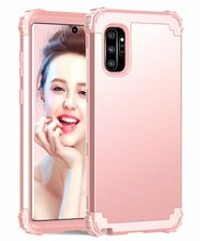купить 360 Full Hybrid Armor Phone Case For Samsung Galaxy Note 10 Pro S10 Plus S10e Heavy Duty PC Silicone Cover S9 S8 Shockproof Case по цене 313.49 рублей