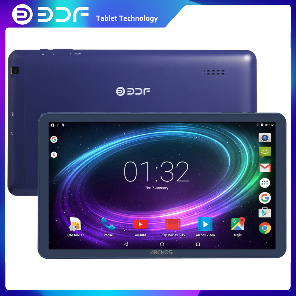 BDF New Android 5.1 Tablets Pc Phone Sim Card 10 Inch 1GB +16GB IPS LCD Quad Core 4200Mah Battery Wifi Bluetooth Nice Design Tab