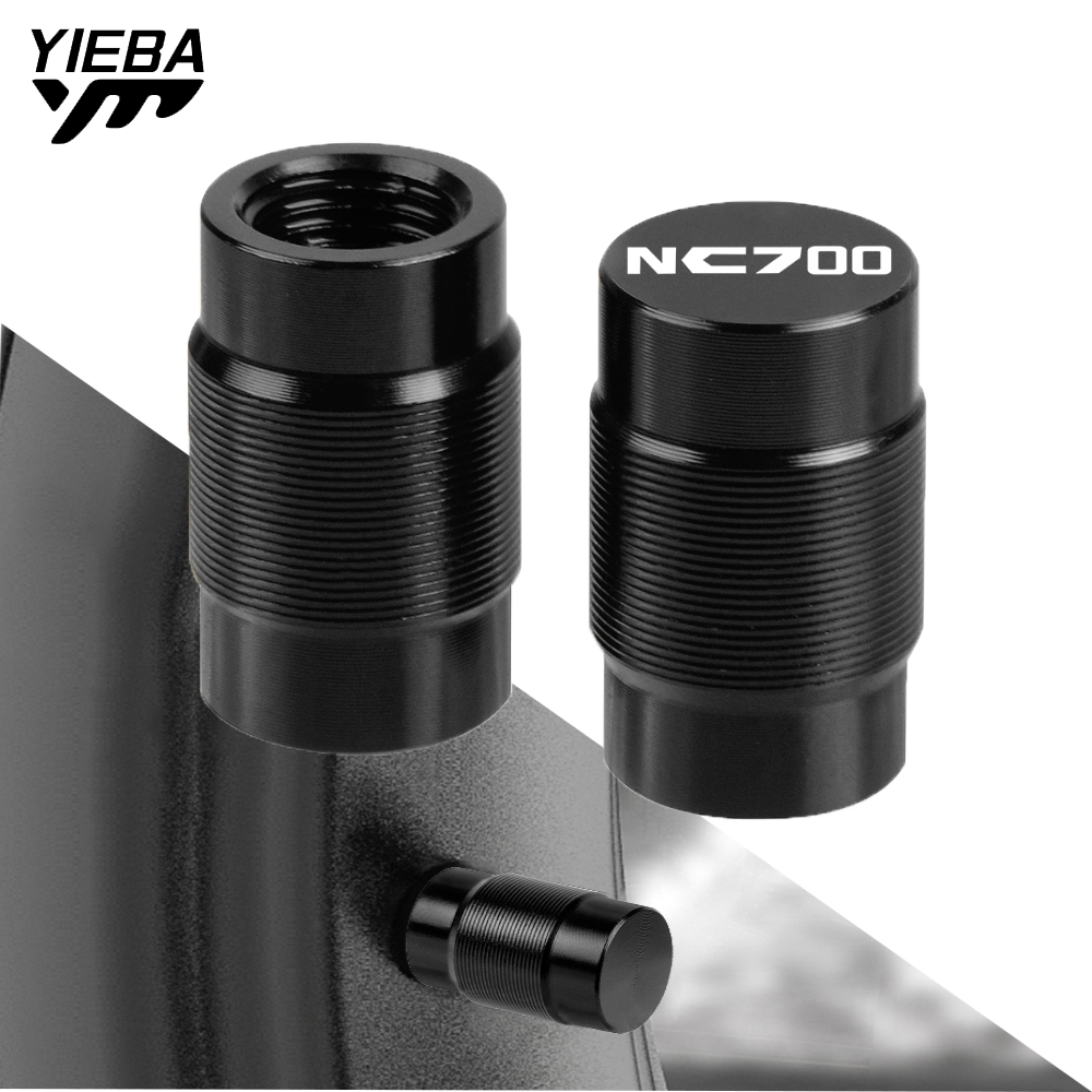For <font><b>Honda</b></font> NC700 <font><b>NC</b></font> <font><b>700</b></font> S NC700X ABS 2011-2020 Motorcycle Accessorie Aluminum Wheel Tire Valve Stem Cap Airtight Cover With logo image