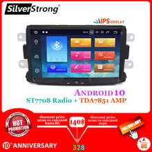 SilverStrong voiture lecteur multimédia Android10 Automotivo radio pour Dacia Sandero Duster Renault Captur Lada Xray 2 Logan(China)