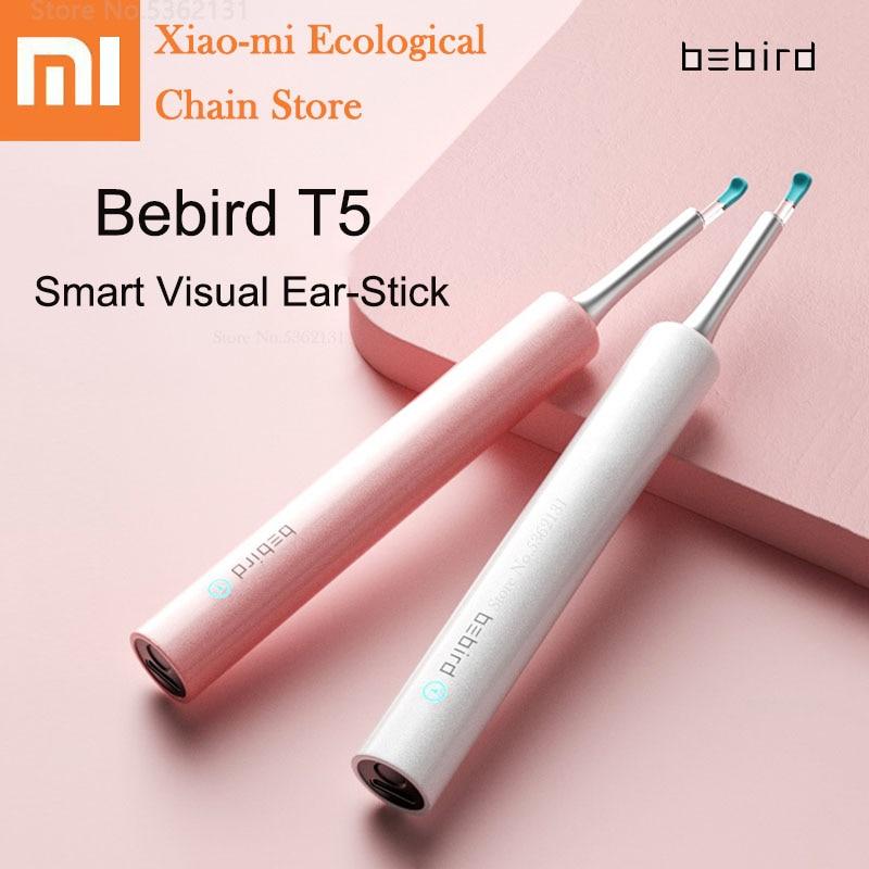 Xiaomi Bebird T5 Smart Visual Ear Stick 200W High Precision Endoscope IP67 Waterproof Rechargeable Children Ear Picker Tool Set