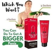 Crème homme agrandissement pénis érection aphrodisiaque huile essentielle sexe retard Dick Viagra croissance épaissir Massage lubrifiant 18 +