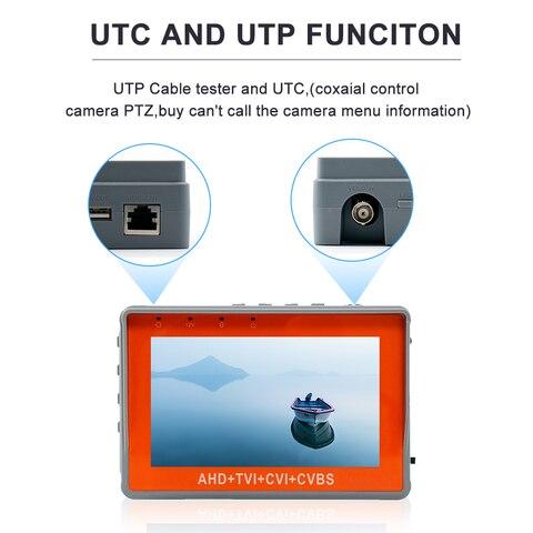 tester monitor suporte utp ptz tester cameras