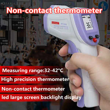 LCD Digital Non-contact IR Infrared Thermometer Forehead Body Thermometre Infrarouge Tool тест на коронавирус#GH