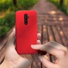 Hacrin Liquid Case for Xiaomi Redmi Note 8 Anti-Drop TPU Soft Silicone Bumper Cover Pro phone case