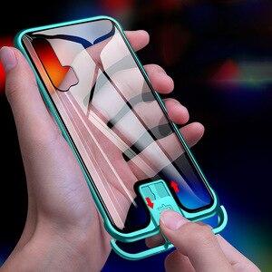 Металлическая Рамка R-just Push Pull для Huawei Honor 20, алюминиевый бампер, чехол из закаленного стекла для Huawei Honor 20 Honor 20 Pro, чехлы