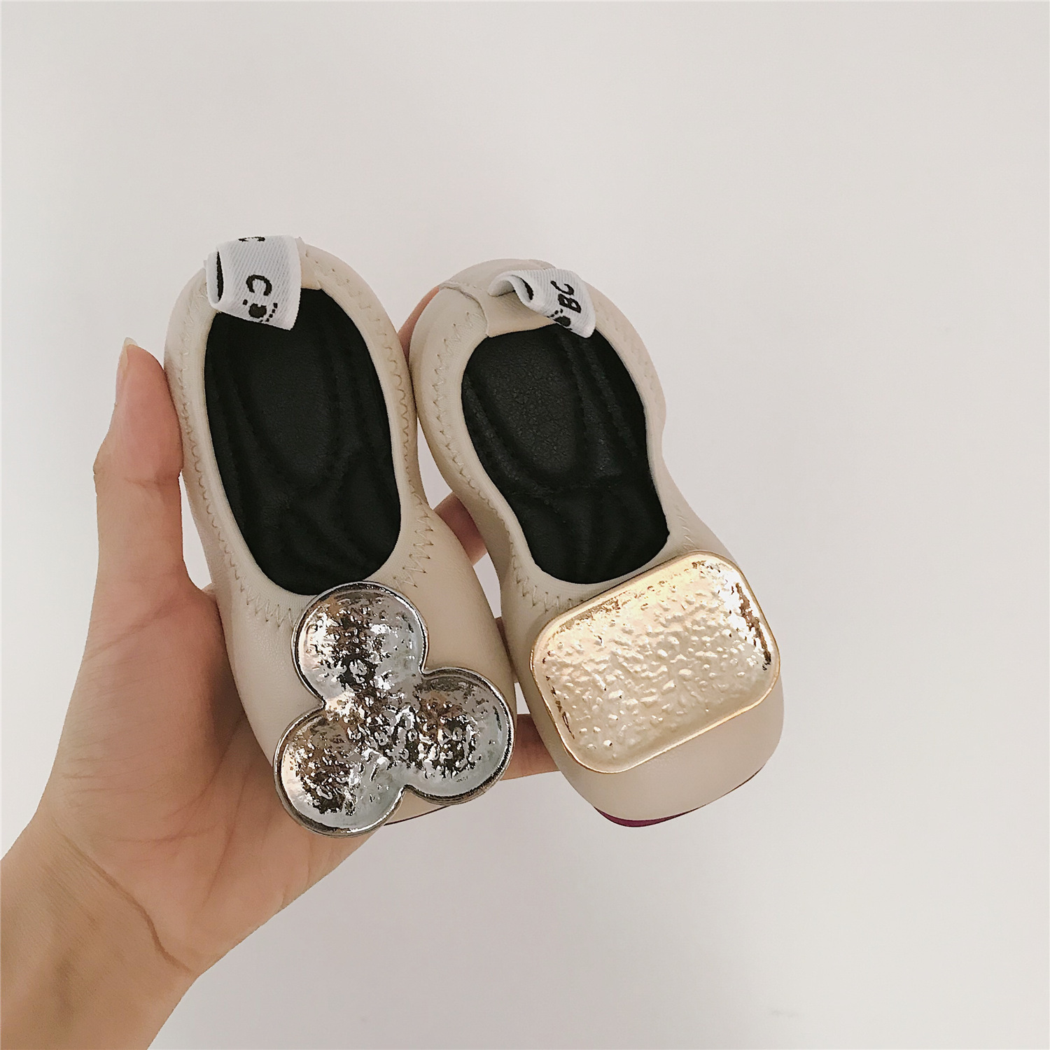 Children Girls  Leather Princess Shoes 2019 Summer New Girls Pu Princess Shoes Ab Style Toddler Girls Shoes For Birthday 1-5y