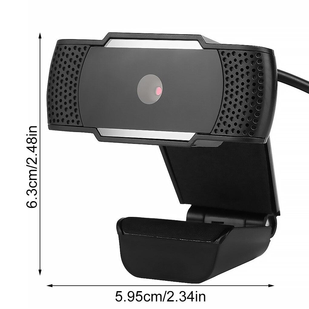 Webcam hd usb2.0 com microfone, câmera para