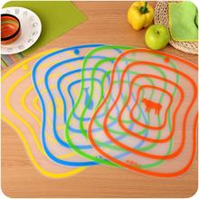 Non-slip Plastic Cutting Board Frosted Kitchen Cutting Board Vegetable Meat Tools Kitchen Accessories Chopping Board