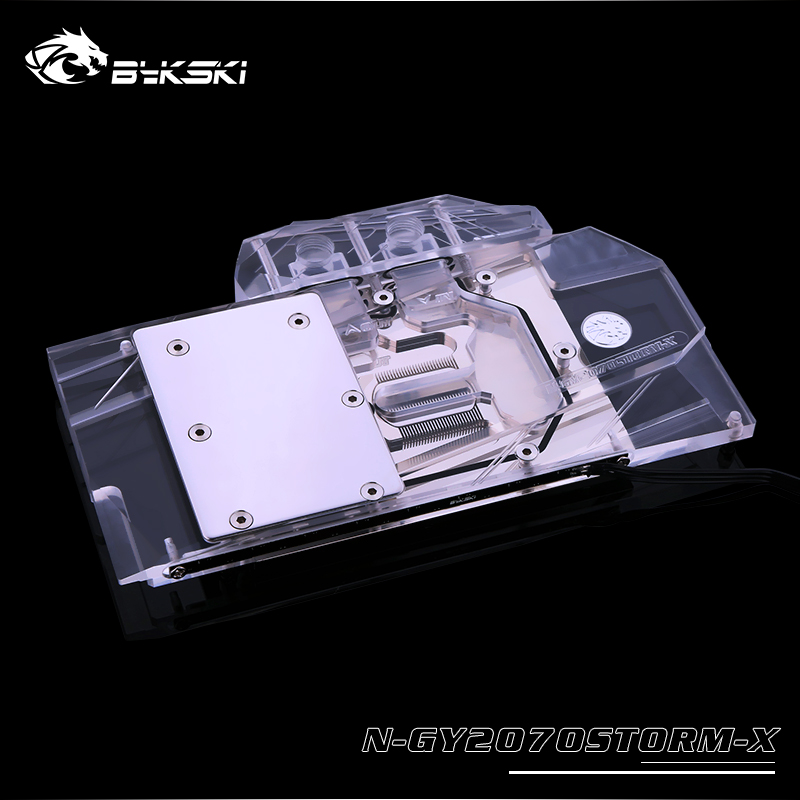 Bykski N-GY2070STORM-X bloc GPU pour GALAX RTX 2070 2060 1660Ti