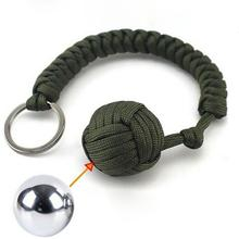 1Pcs Outdoor Sports Equipment Monkey Fist Round Umbrella Rop