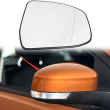 Car Driver Right Side Wing Mirror Glass Rearview Heated Styling For Ford Focus 2012-2014