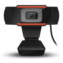 720p hd webcam com microfone rotatable pc desktop web camera cam mini computador webcamera cam gravação de vídeo trabalho em estoque