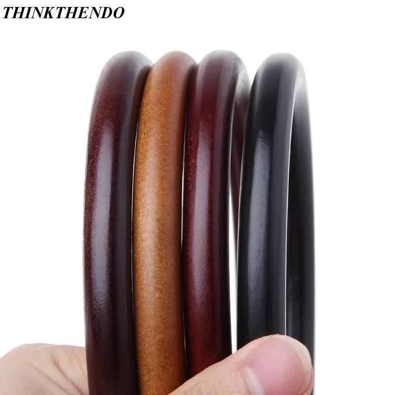 Round Wooden Handle For Handmade Handbag DIY Tote Purse Frame Making Bag Hanger