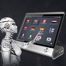 8 인치 하이 엔드 AI 상업용 스마트 인스턴트 음성 번역기 실시간 음성 언어 번역기 OTA 업그레이드 호텔 회의실