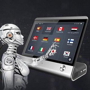 Image 1 - 8 pouces haut de gamme AI commercial intelligent traducteur de voix instantanée en temps réel traducteur de langues vocales OTA mise à niveau hôtel salle de réunion