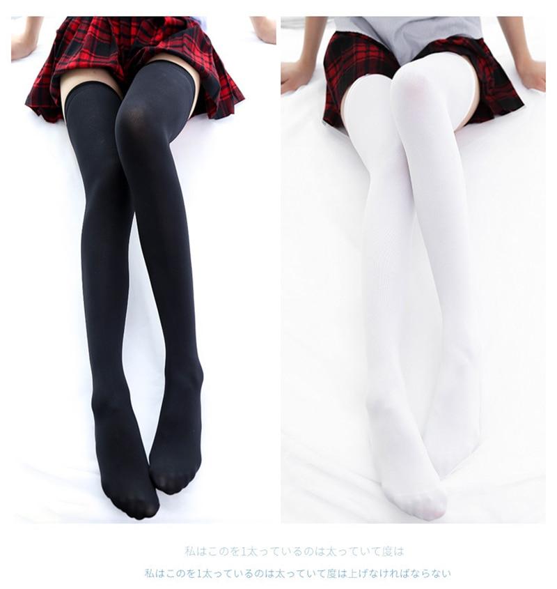 New Women Socks Fashion Stockings Casual Thigh High Over Knee Long Socks Girls Female Long Knee Sock Knee High Women Stockings