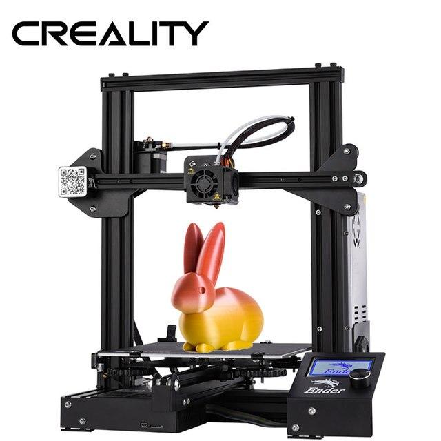 CREALITY 3D Imprimante Ender 3/Ender 3X Trempé Verre En Option, v slot Cv Panne De Courant Impression kit de bricolage Foyer