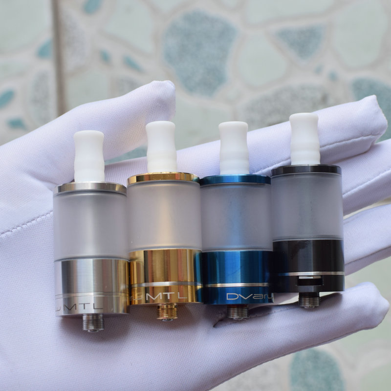 DIY RTA Dvarw MTL RTA Rebuildable Tank Atomizer316ss With 4pcs Extra Airflow Insert Electronic Cigarette Atomizer
