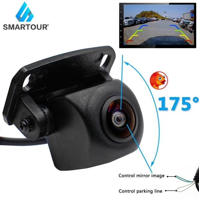 Smartour HD 175 Grad Fisheye Objektiv Sternenlicht Nachtsicht Auto Reverse Rückansicht Kamera Parkplatz Kamera 1296*1080P wasserdicht