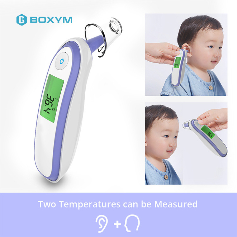 Baby/Adult Digital Termometr Infrared Forehead/Ear Body Temperature Thermometer Non-contact  Fever Medical Ear Thermometre