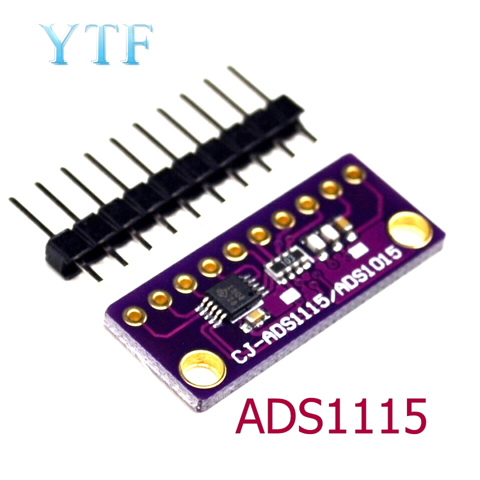 I2C ADS1115 16 Bit ADC 4 Channel Module With Programmable Gain Amplifier 2.0V To 5.5V For Arduino