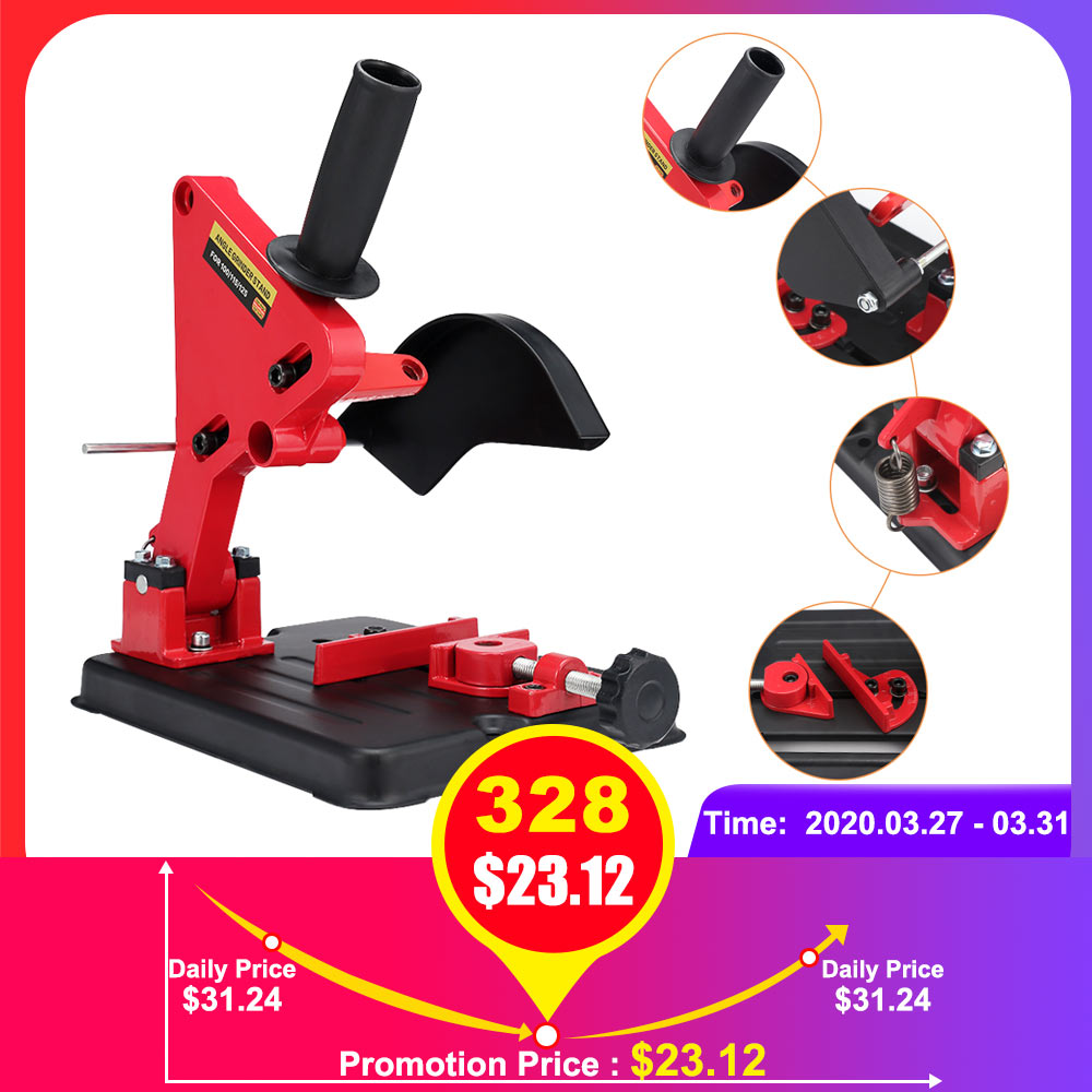 Multifunctional Angle Grinder Stand Holder Woodworking Tool DIY Cutting Stand Grinder Support Dremel Power Tools Accessories