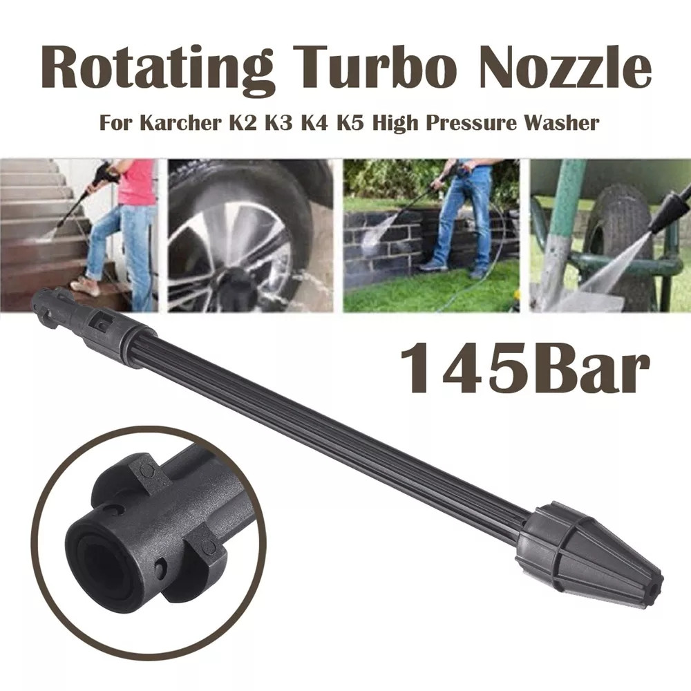 High Pressure Washer Car Water Spray Lance Wand Rotary Turbo For Karcher K2 - K7