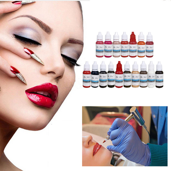 22 Colors Permanent  Lipstick Microblading Pigments Paints Ink For Lip Tattooing Tattoo Machine Tattoo Ink Material I,tattoo Art