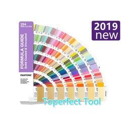 2019 Новая цветная карта PANTONE международный стандарт добавленная 294 цветная карта C U карта GP1601A-SUPL