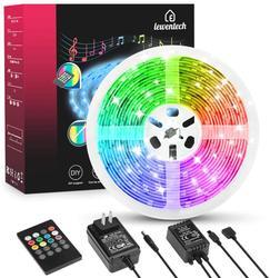 Светодиодная лента, гибкий светильник RGB 5050 SMD, 5 м, 10 м, 12 в пост. Тока + пульт дистанционного управления + адаптер