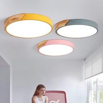 Luces Led colgantes TRAZOS, modernas, para comedor, dormitorio, lámpara de techo colgante de madera + Metal, iluminación del hogar para Cocina