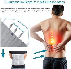 Image 4 - HKJD Medical High Back Brace Waist Belt Spine Support Men Women Belts Breathable Lumbar Corset Orthopedic Back Support