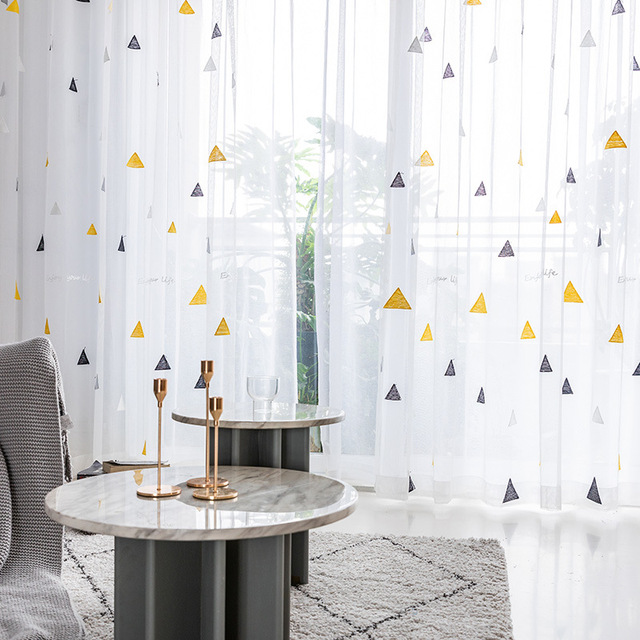 Nordic Style Curtain for Children's Room